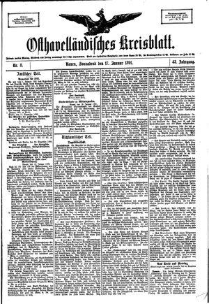 Osthavelländisches Kreisblatt vom 17.01.1891
