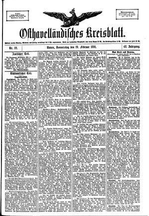 Osthavelländisches Kreisblatt vom 19.02.1891