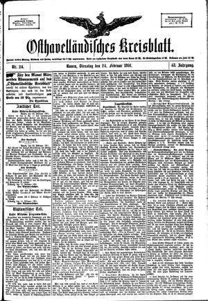 Osthavelländisches Kreisblatt vom 24.02.1891