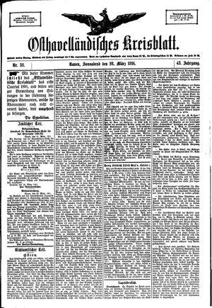 Osthavelländisches Kreisblatt vom 28.03.1891