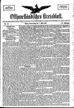 Osthavelländisches Kreisblatt vom 07.05.1891