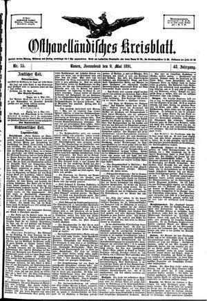 Osthavelländisches Kreisblatt vom 09.05.1891