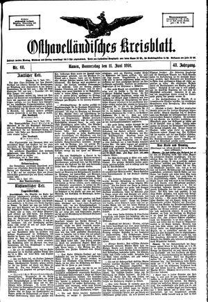 Osthavelländisches Kreisblatt vom 11.06.1891