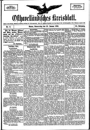 Osthavelländisches Kreisblatt vom 28.01.1892