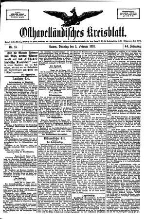 Osthavelländisches Kreisblatt vom 02.02.1892