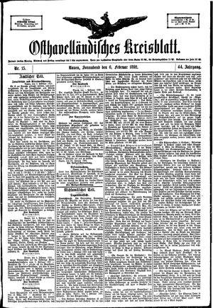 Osthavelländisches Kreisblatt vom 06.02.1892
