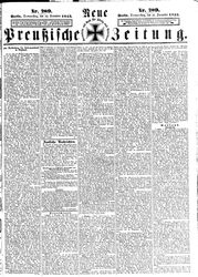Neue preußische Zeitung