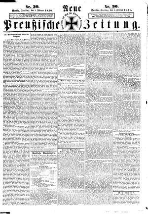 Neue preußische Zeitung on Feb 5, 1858