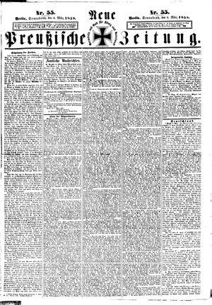 Neue preußische Zeitung vom 06.03.1858