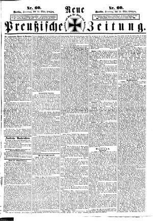 Neue preußische Zeitung vom 12.03.1858