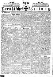 Neue preußische Zeitung (17.03.1858)