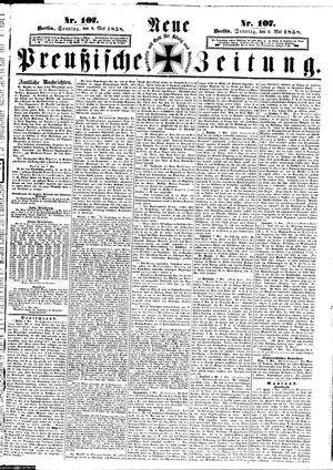 Neue preußische Zeitung vom 09.05.1858