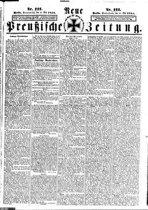 Neue preußische Zeitung vom 15.05.1858