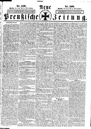 Neue preußische Zeitung on May 21, 1858