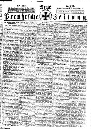 Neue preußische Zeitung vom 29.05.1858
