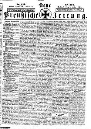 Neue preußische Zeitung vom 01.06.1858