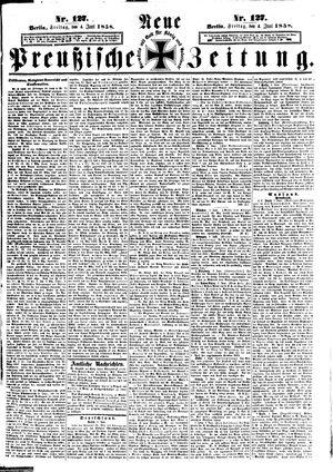 Neue preußische Zeitung vom 04.06.1858