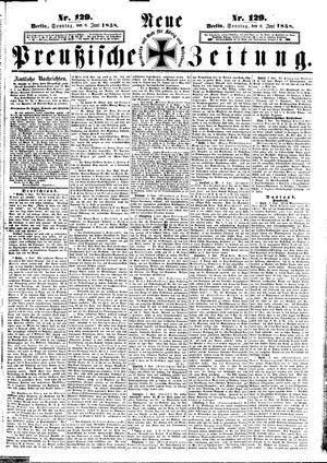 Neue preußische Zeitung vom 06.06.1858