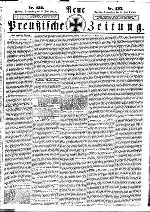 Neue preußische Zeitung vom 10.06.1858