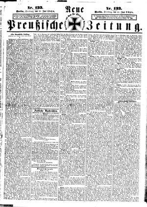 Neue preußische Zeitung vom 11.06.1858