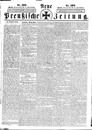Neue preußische Zeitung vom 12.06.1858