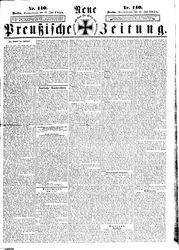 Neue preußische Zeitung (19.06.1858)