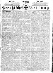 Neue preußische Zeitung (23.06.1858)