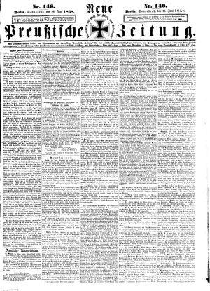 Neue preußische Zeitung vom 26.06.1858