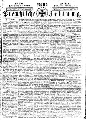 Neue preußische Zeitung vom 02.07.1858