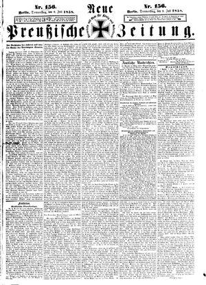 Neue preußische Zeitung vom 08.07.1858