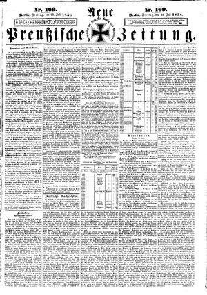 Neue preußische Zeitung vom 23.07.1858