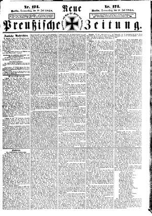 Neue preußische Zeitung vom 29.07.1858