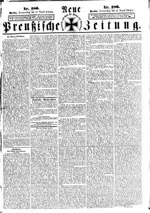 Neue preußische Zeitung vom 12.08.1858