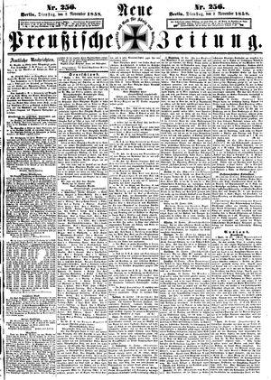 Neue preußische Zeitung vom 02.11.1858
