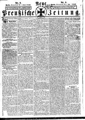 Neue preußische Zeitung vom 01.01.1859