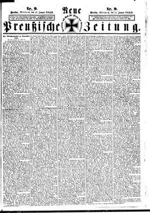 Neue preußische Zeitung on Jan 12, 1859