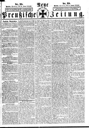 Neue preußische Zeitung vom 30.01.1859
