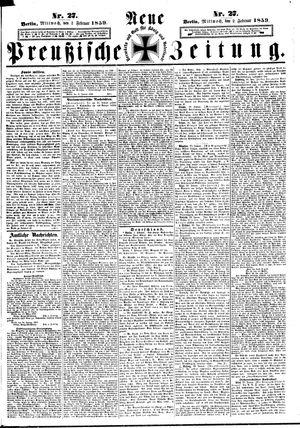 Neue preußische Zeitung vom 02.02.1859