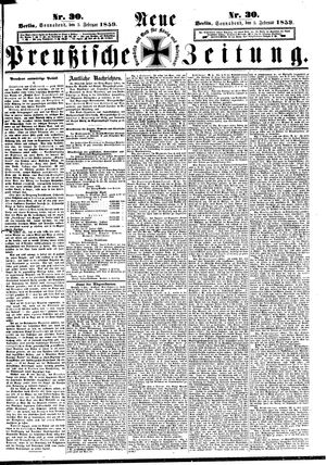 Neue preußische Zeitung vom 05.02.1859