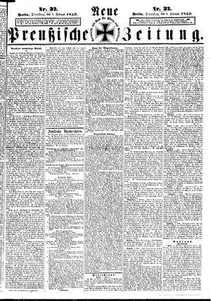 Neue preußische Zeitung vom 08.02.1859