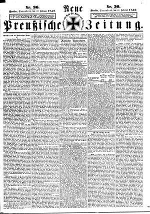 Neue preußische Zeitung vom 12.02.1859