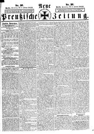 Neue preußische Zeitung vom 13.02.1859