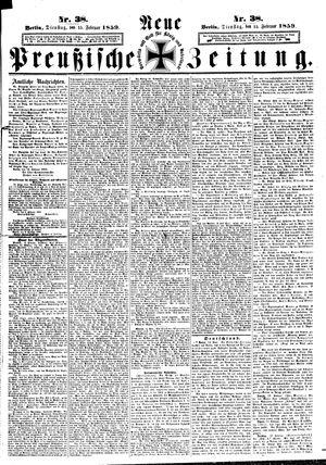 Neue preußische Zeitung vom 15.02.1859