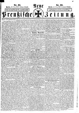 Neue preußische Zeitung vom 18.02.1859