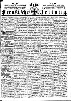 Neue preußische Zeitung vom 24.02.1859