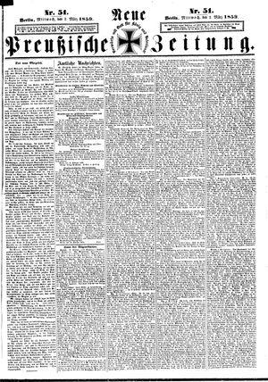 Neue preußische Zeitung vom 02.03.1859