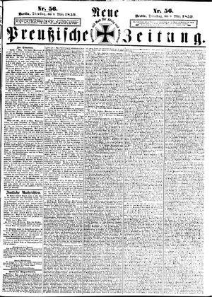 Neue preußische Zeitung on Mar 8, 1859