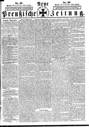Neue preußische Zeitung vom 09.03.1859