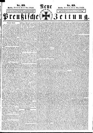 Neue preußische Zeitung vom 16.03.1859