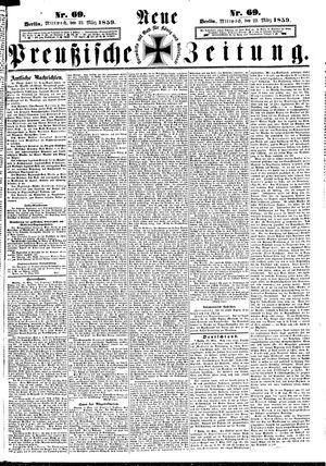 Neue preußische Zeitung vom 23.03.1859